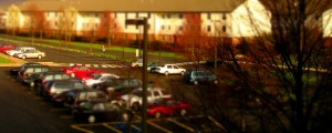Miniture Parking Lot